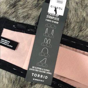 torrid Intimates & Sleepwear - NWT Torrid Push-up Strapless 5-way Bra 36C